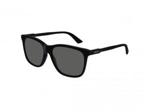 Montatura Gucci GG0495S Colore 001 black black grey 57/16 - 150 sole unisex acetato