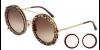 D&G 2198 131831, 245,00€, Occhiali Dolce&Gabbana Multicolor a forma Rotondo