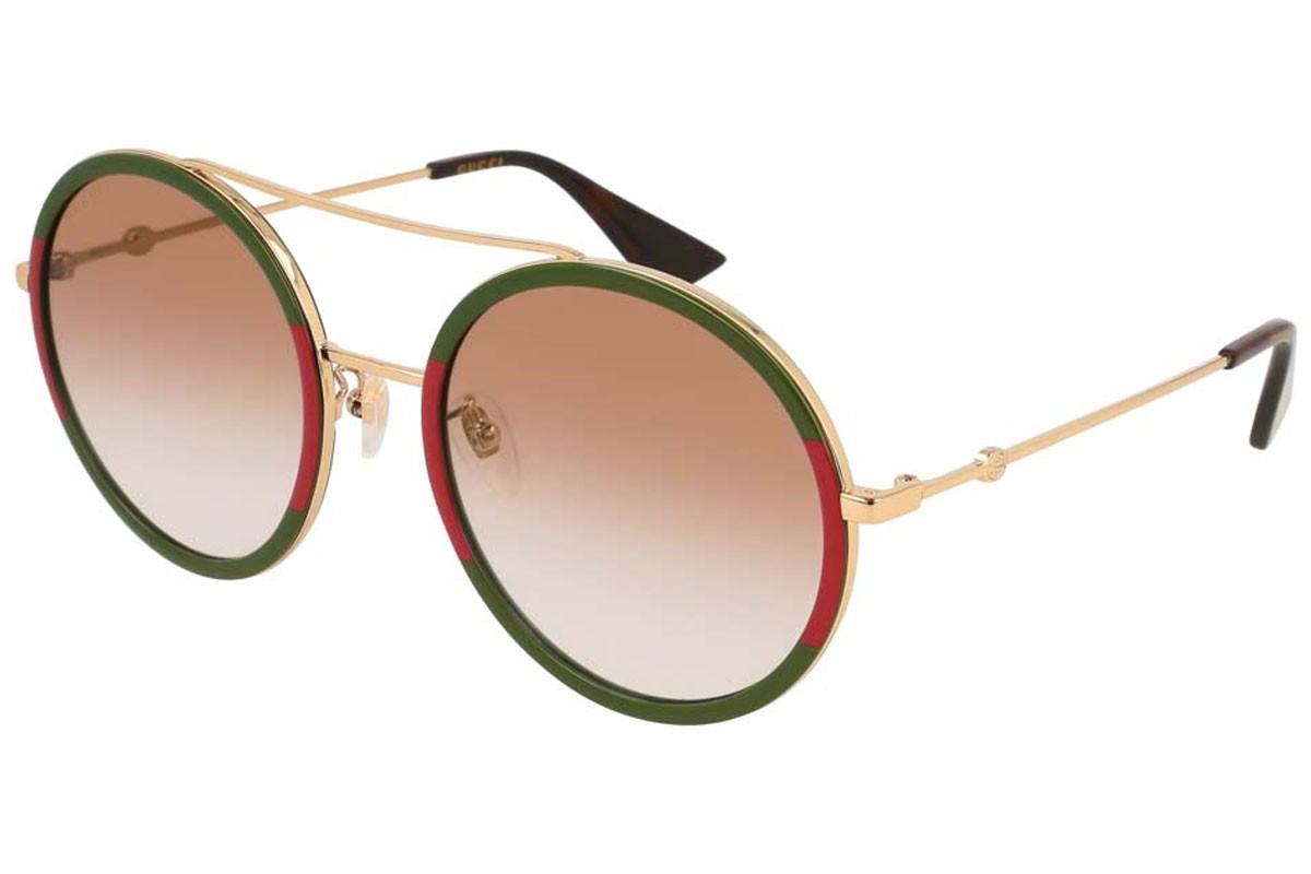 Gucci GG0061S 010 56, 202,99€, Occhiali Gucci Multicolor a forma Rotondo