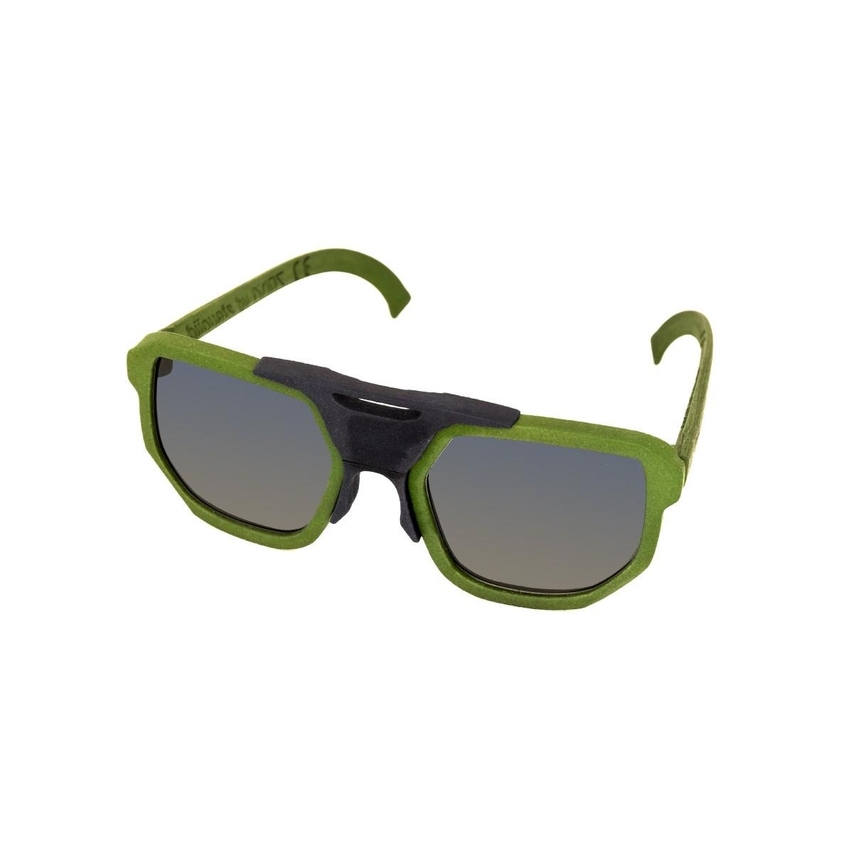 Cambiami 2.0 unisex verde, 90,00€, Occhiali Cambiami Verde a forma Rettangolare