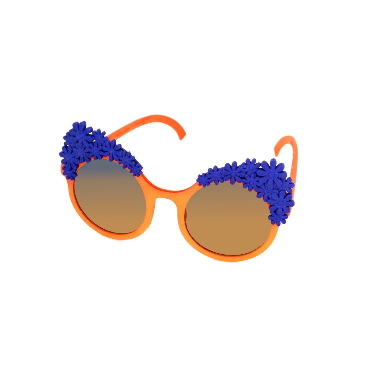 Cambiami Margherite donna arancio, 90,00€, Occhiali Cambiami Arancio a forma Rotondo