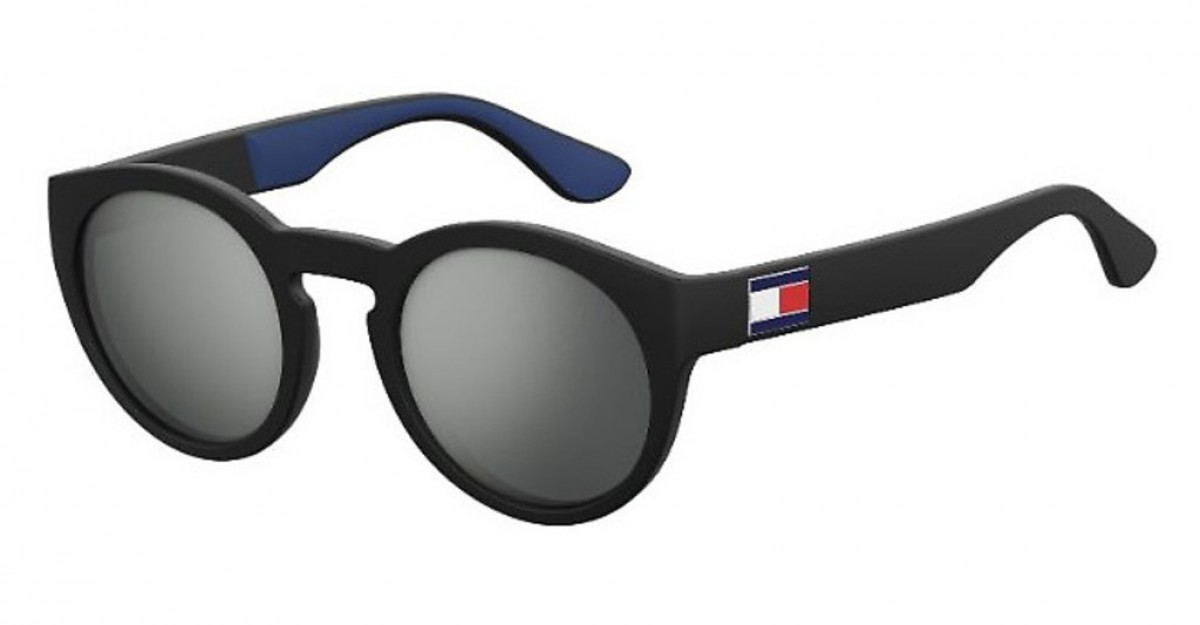 Tommy Hilfiger 1555/s D51/T4, 83,99 €, Occhiali Tommy Hilfiger Nero a forma Rotondo