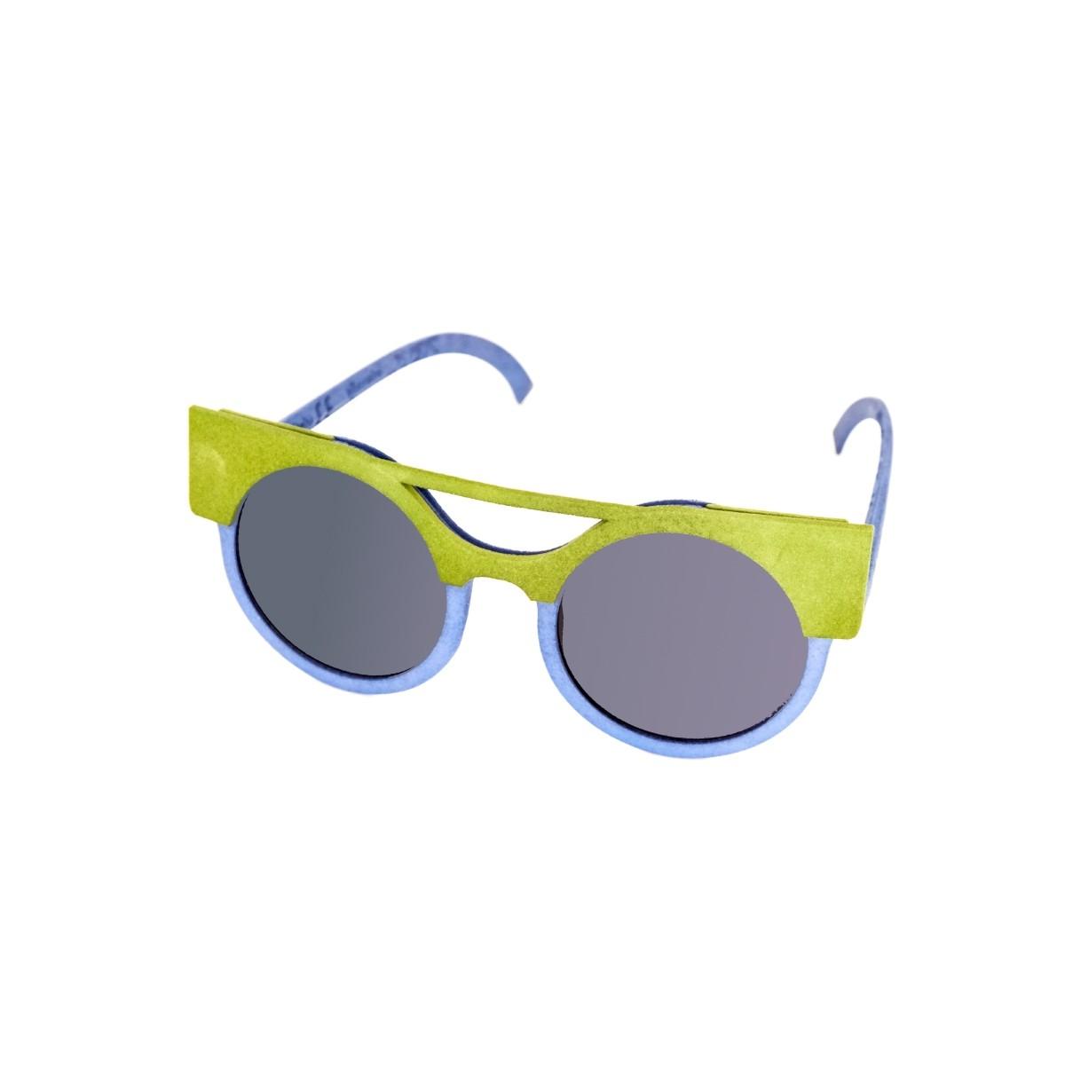 Cambiami Zeus donna blu avio, 90,00€, Occhiali Cambiami Blu a forma Rotondo
