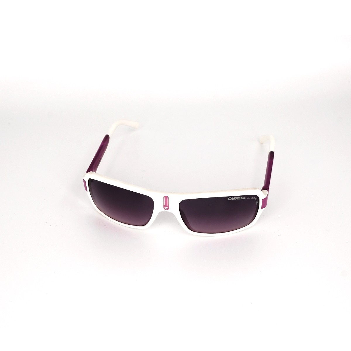 Carrerino 8 XDNFF, 48,00€, Occhiali  Bianco a forma Rettangolare
