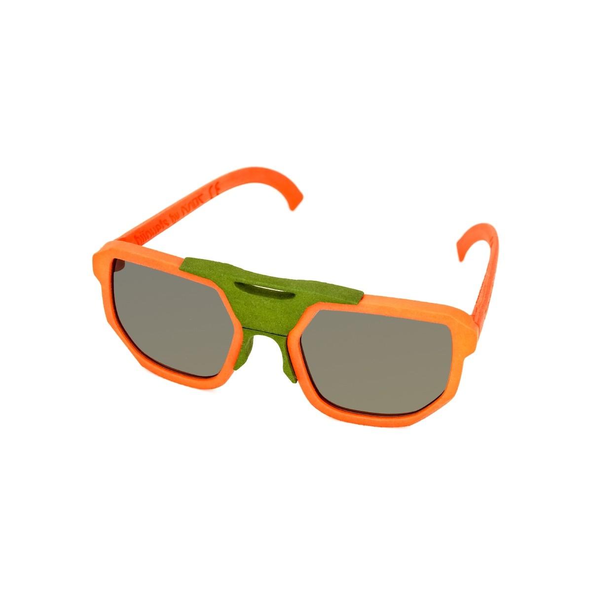 Cambiami 2.0 unisex arancio, 90,00€, Occhiali Cambiami Arancio a forma Rettangolare