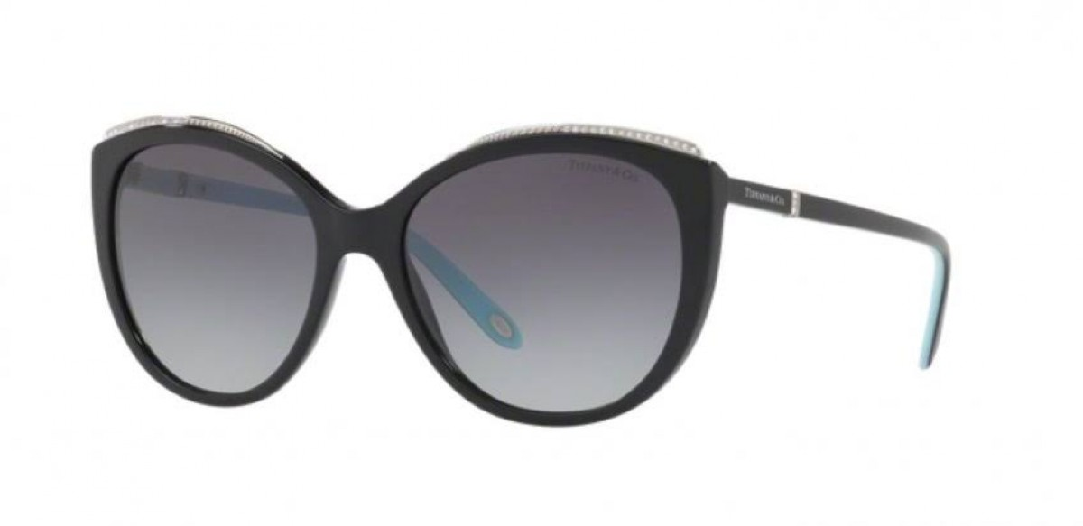 Tiffany 4134 8001/3C 56, 190,74 €, Occhiali Tiffany & Co. Nero a forma Farfalla