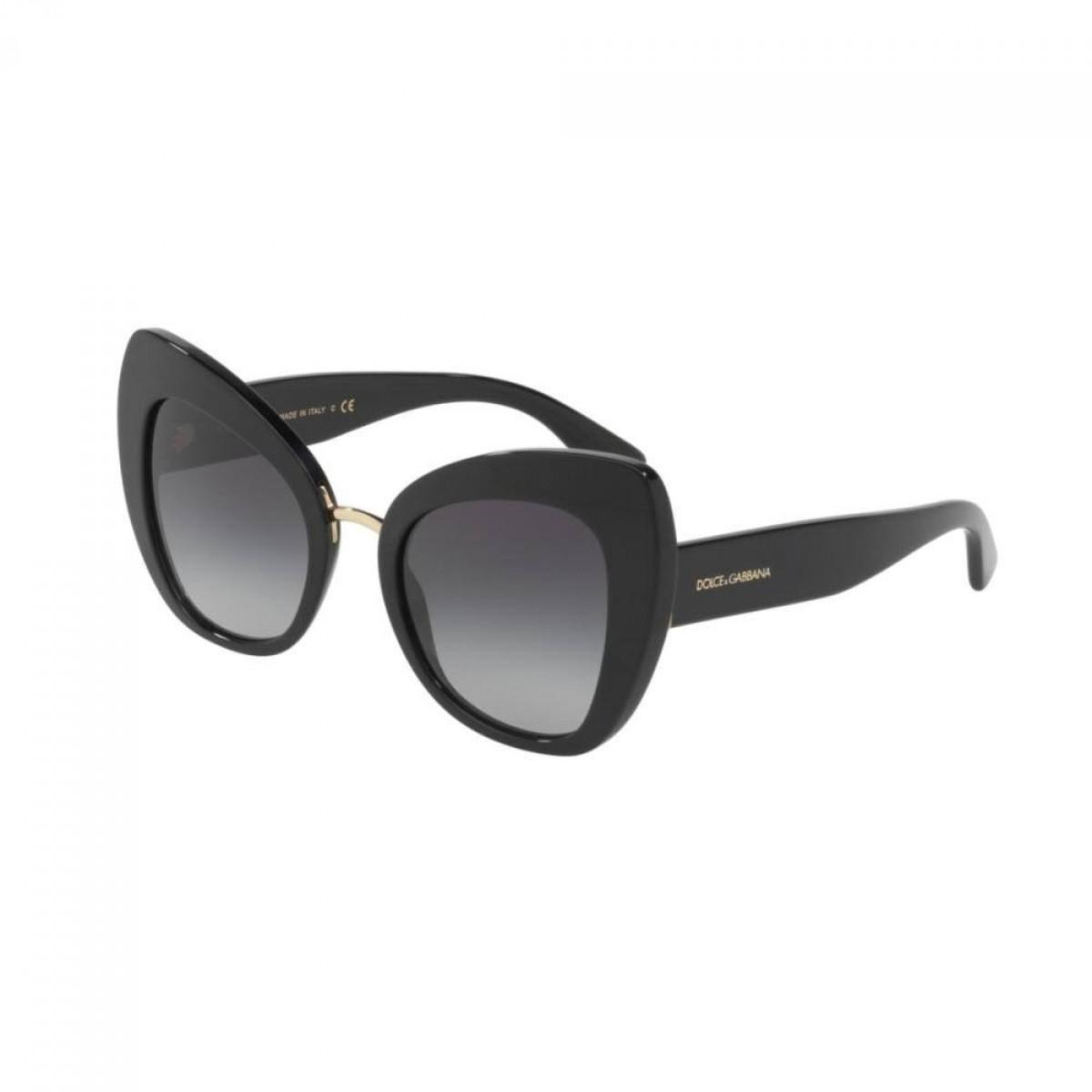 Dolce&Gabbana 4319 501/8G 51, 146,89€, Occhiali Dolce&Gabbana Nero a forma Farfalla