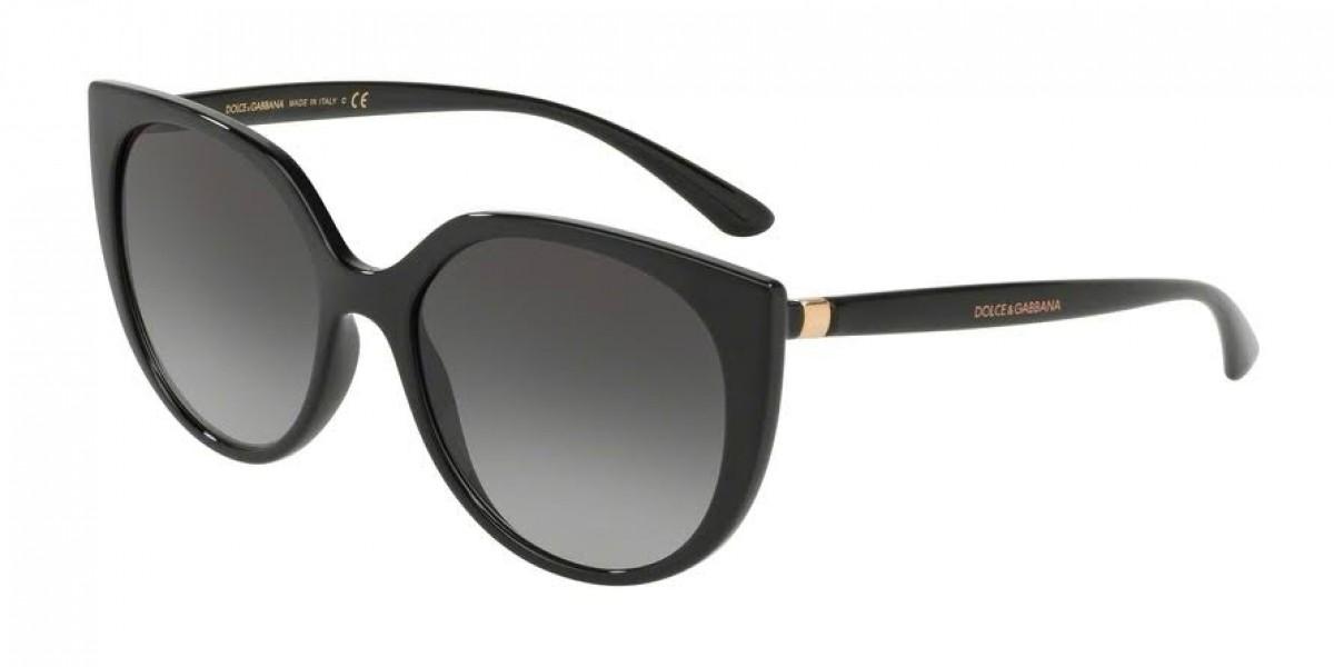 Dolce & Gabbana 6119 501/8G 54, 111,99€, Occhiali Dolce&Gabbana Nero a forma Farfalla