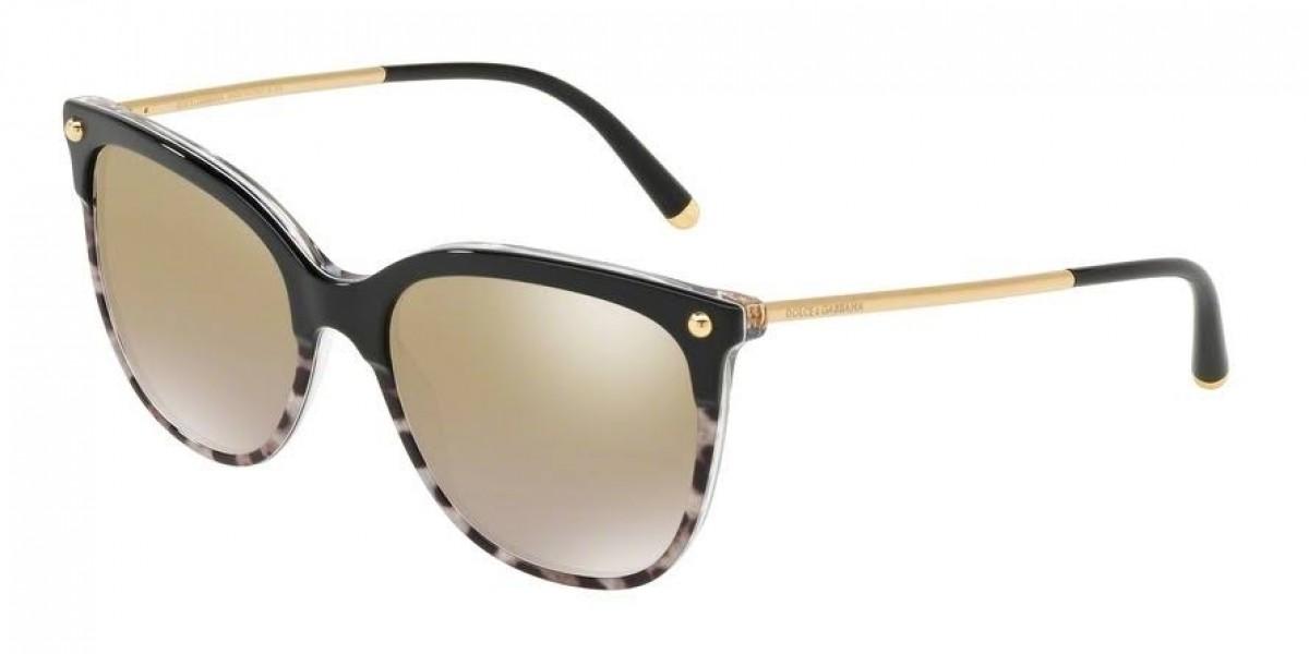 Dolce&Gabbana 4333 31746E 55, 139,99€, Occhiali Dolce&Gabbana Multicolor a forma Squadrato