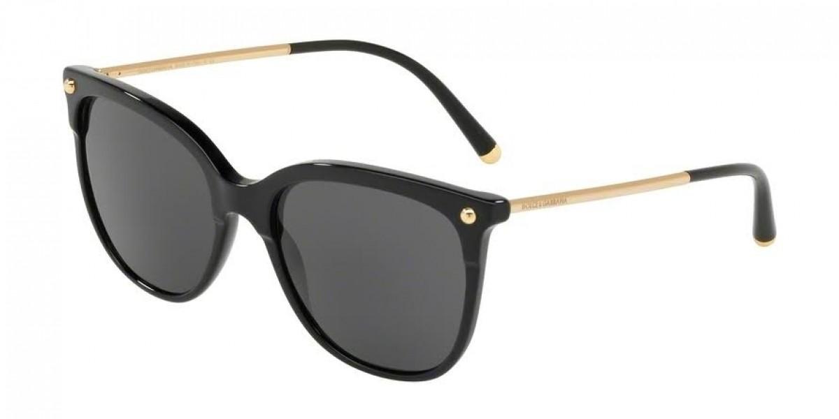 Dolce&Gabbana 4333 501/87 55, 133,93€, Occhiali Dolce&Gabbana Nero a forma Squadrato