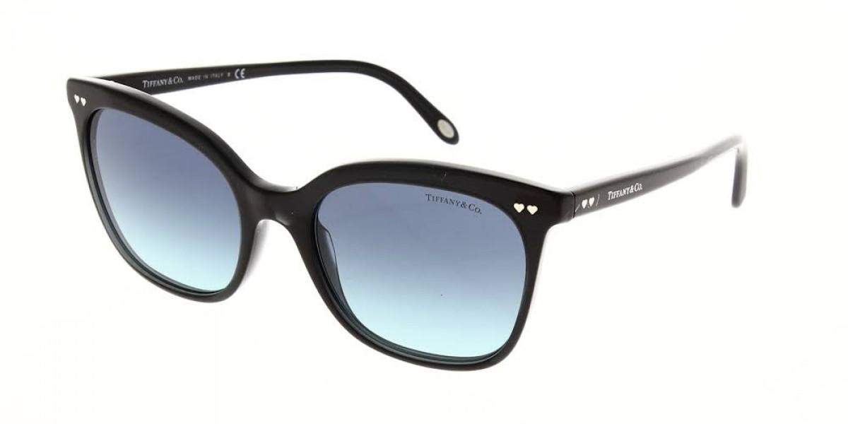 Tiffany 4140 8232/9S 54, 151,66€, Occhiali Tiffany & Co. Nero a forma Rettangolare