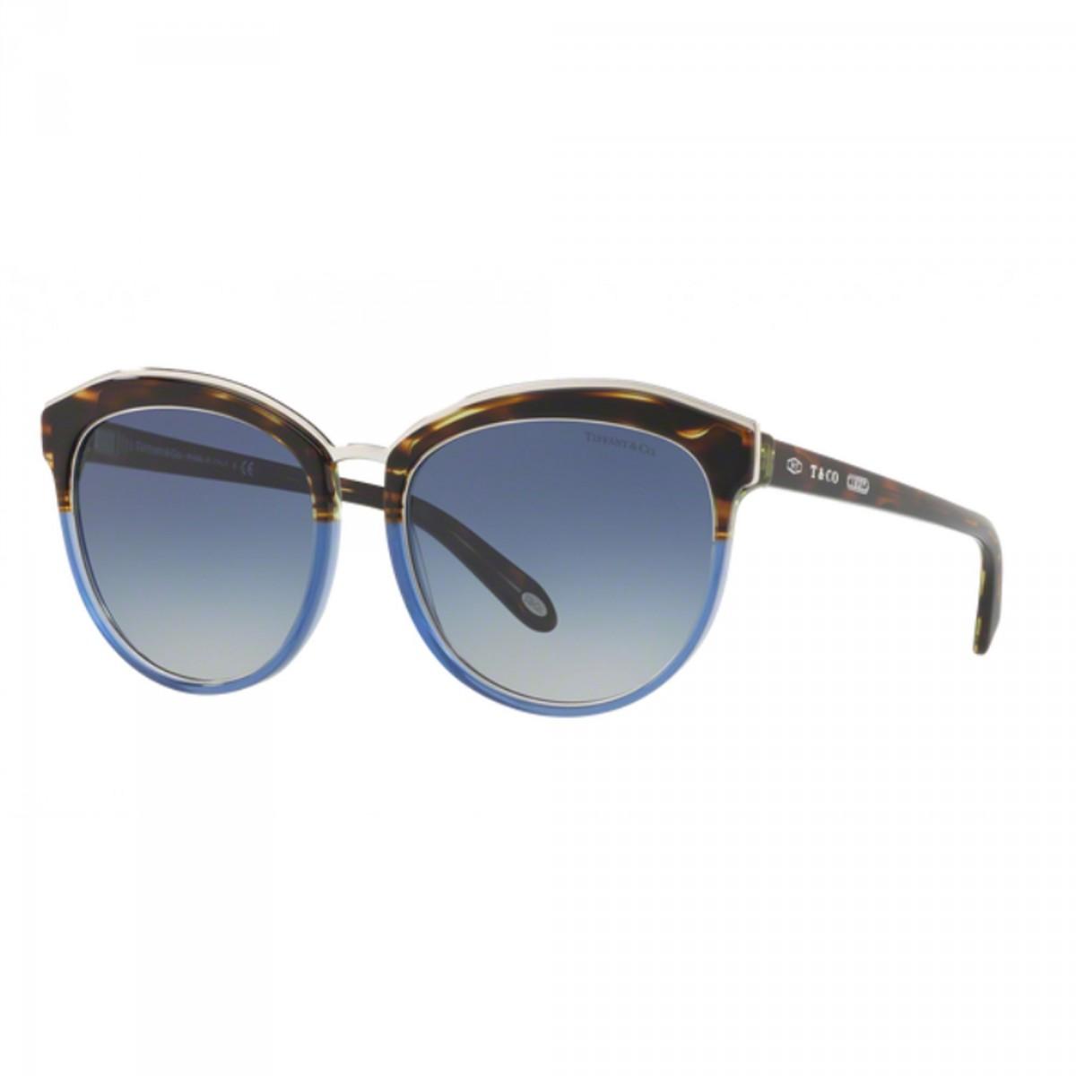 Tiffany 4146 8246/4L 56, 187,77€, Occhiali Tiffany & Co. Blu a forma Rotondo