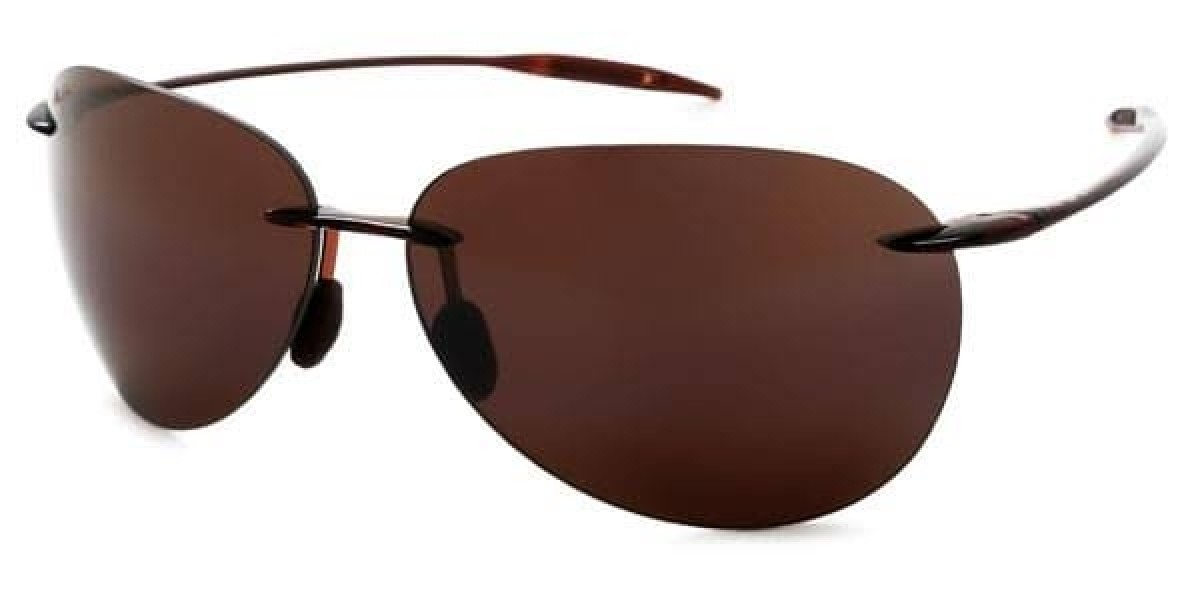 Maui Jim Sugar Beach H421-26, 125,27 €, Occhiali Maui Jim Marrone a forma Goccia aviator