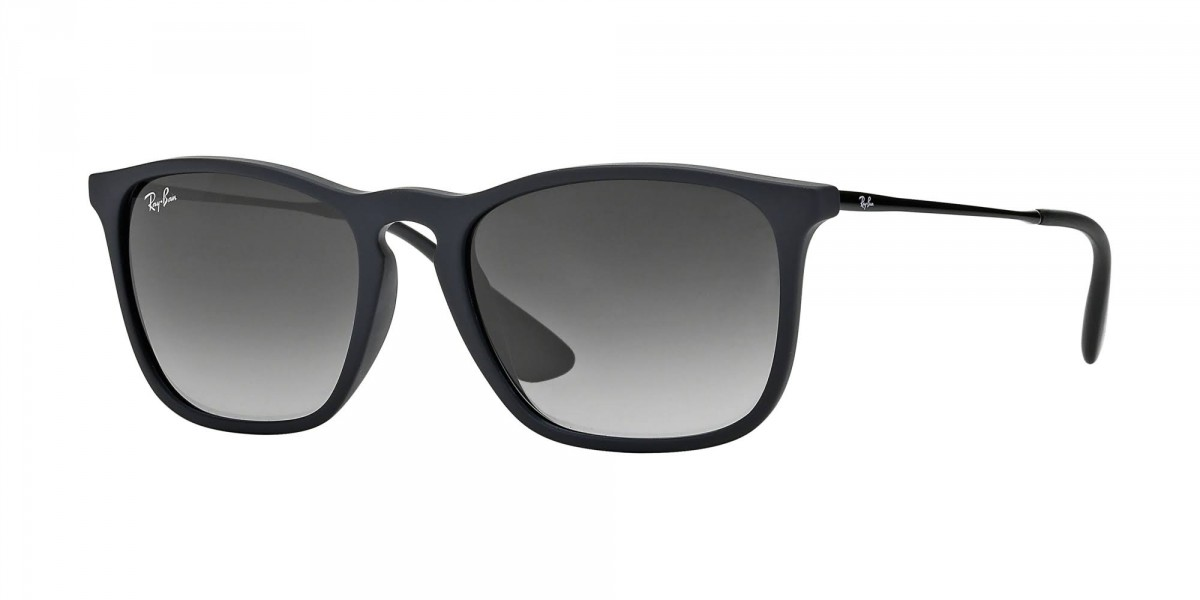 Ray-Ban Chris RB4187 622/8G 54, 77,29 €, Occhiali Ray Ban Nero a forma Rettangolare