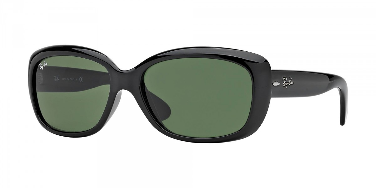 Ray-Ban Jackie Ohh RB4101 601 58, 92,56 €, Occhiali Ray Ban Nero a forma Rettangolare
