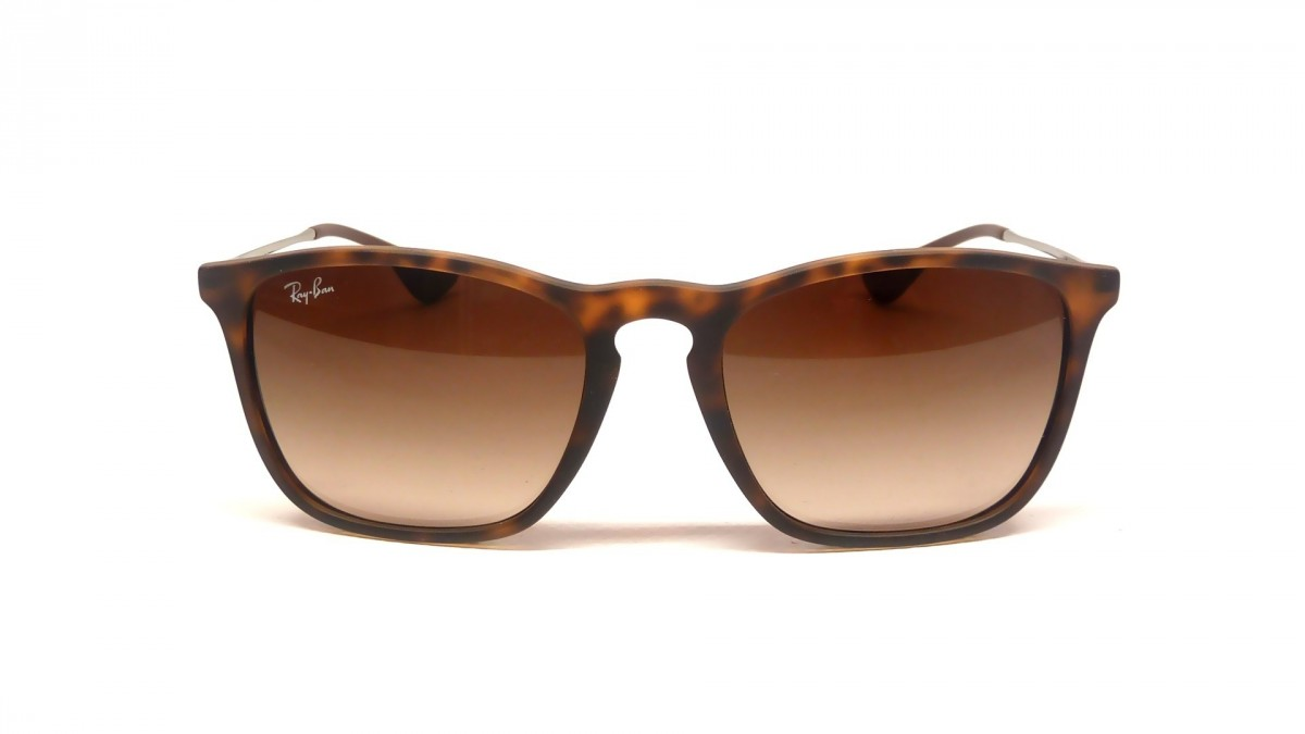 Ray Ban Chris RB4187 856/13, 76,29 €, Occhiali Ray Ban Marrone a forma Rettangolare