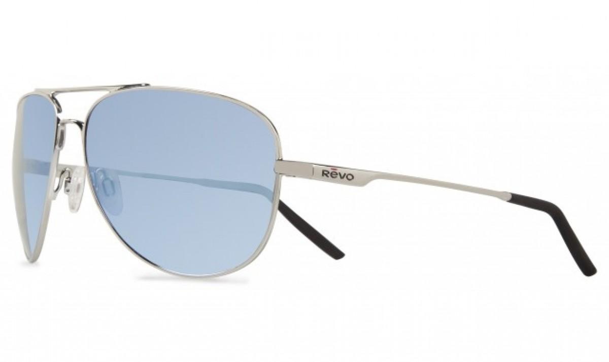 Revo Windspeed 3087 03, 192,00€, Occhiali Revo Argento a forma Goccia aviator