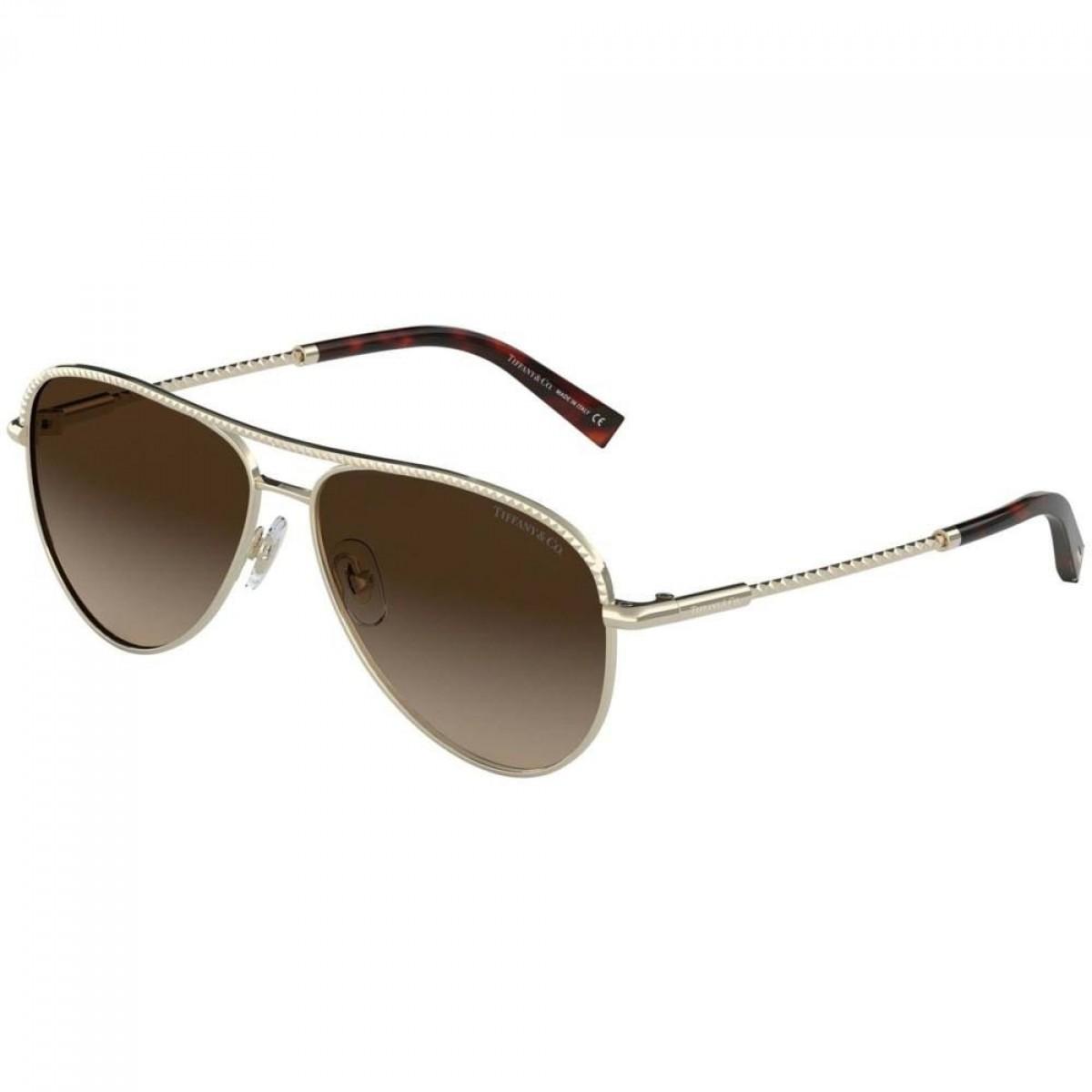 Tiffany & Co. 3062 60213B 57, 164,99€, Occhiali Tiffany & Co. Oro a forma Goccia aviator