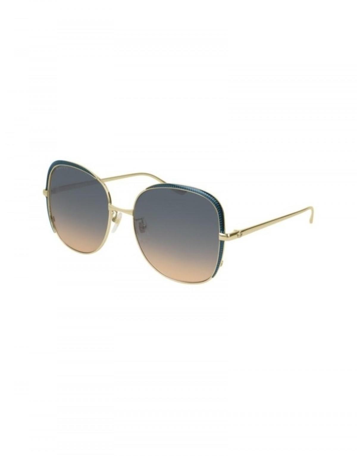 Gucci GG400S 006, 400,00€, Occhiali Gucci Oro a forma Squadrato