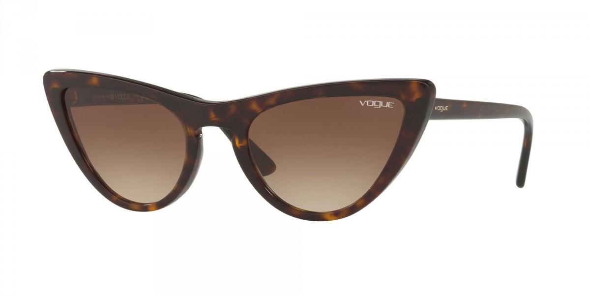 Vogue 5211S W65613 54, 72,99 €, Occhiali Vogue Marrone a forma Gatto