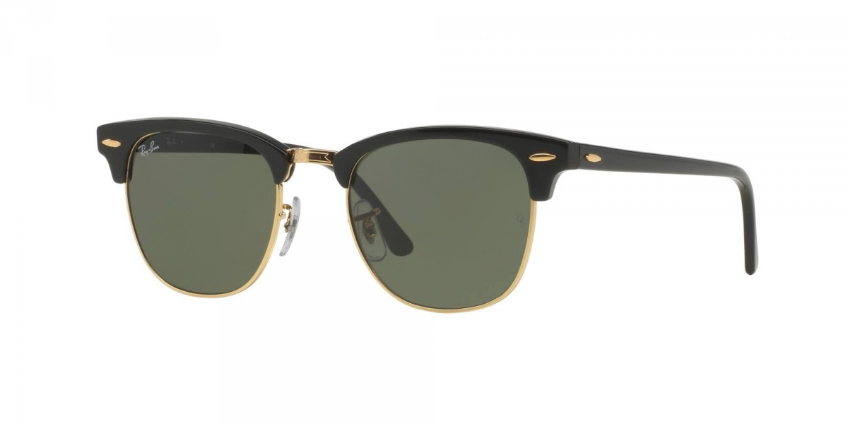 Ray-Ban Clubmaster classic 3016 W0365 49, 90,16 €, Occhiali Ray Ban Nero a forma Clubmaster