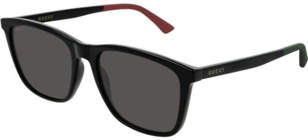 Gucci GG0404S 001 black 55, 207,00€, Occhiali Gucci Nero a forma Rettangolare