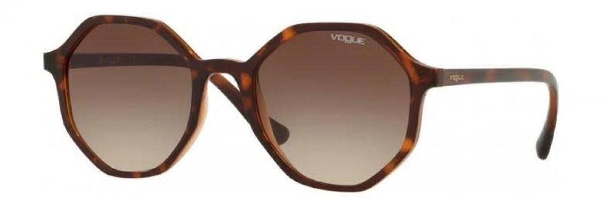 Vogue 5222S 238613, 63,99€, Occhiali Vogue Marrone a forma Rotondo