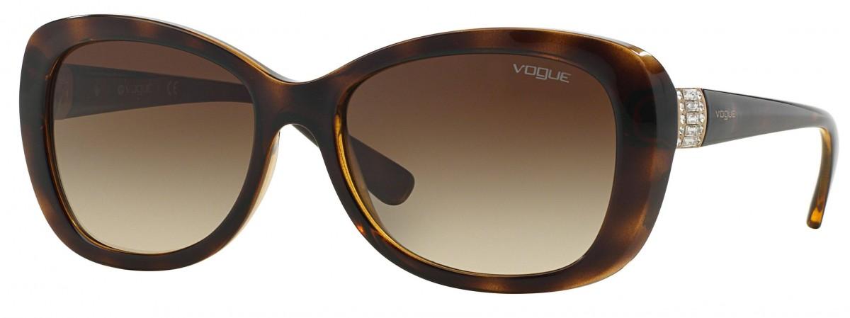 Vogue 2943SB W65613 55, 76,99€, Occhiali Vogue Marrone a forma Gatto