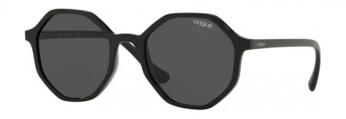 Vogue 5222S W44/87 52, 63,33€, Occhiali Vogue Nero a forma ottagonale