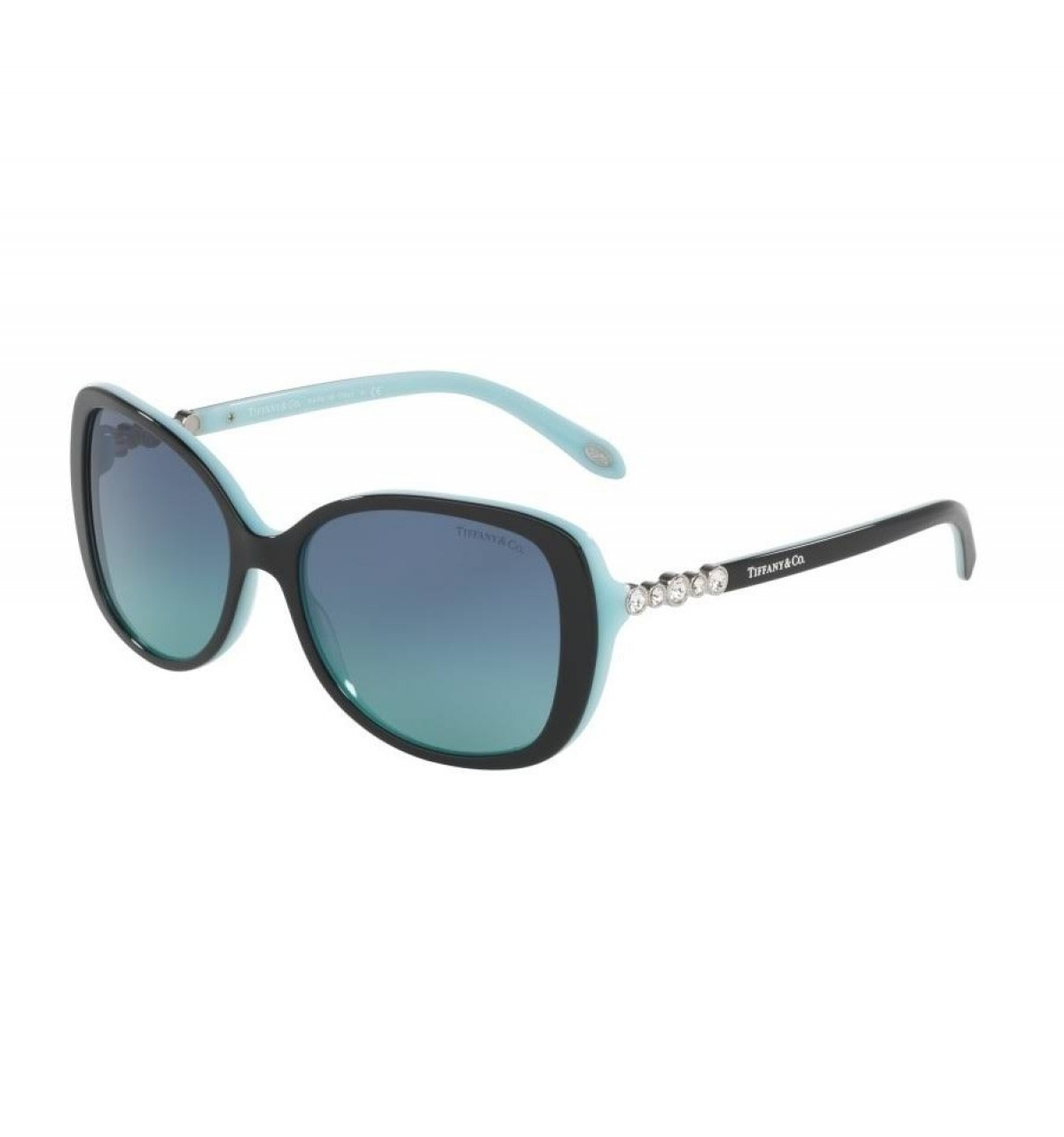 Tiffany & Co. 4121B 80559S 55, 182,37 €, Occhiali Tiffany & Co. Nero a forma Squadrato