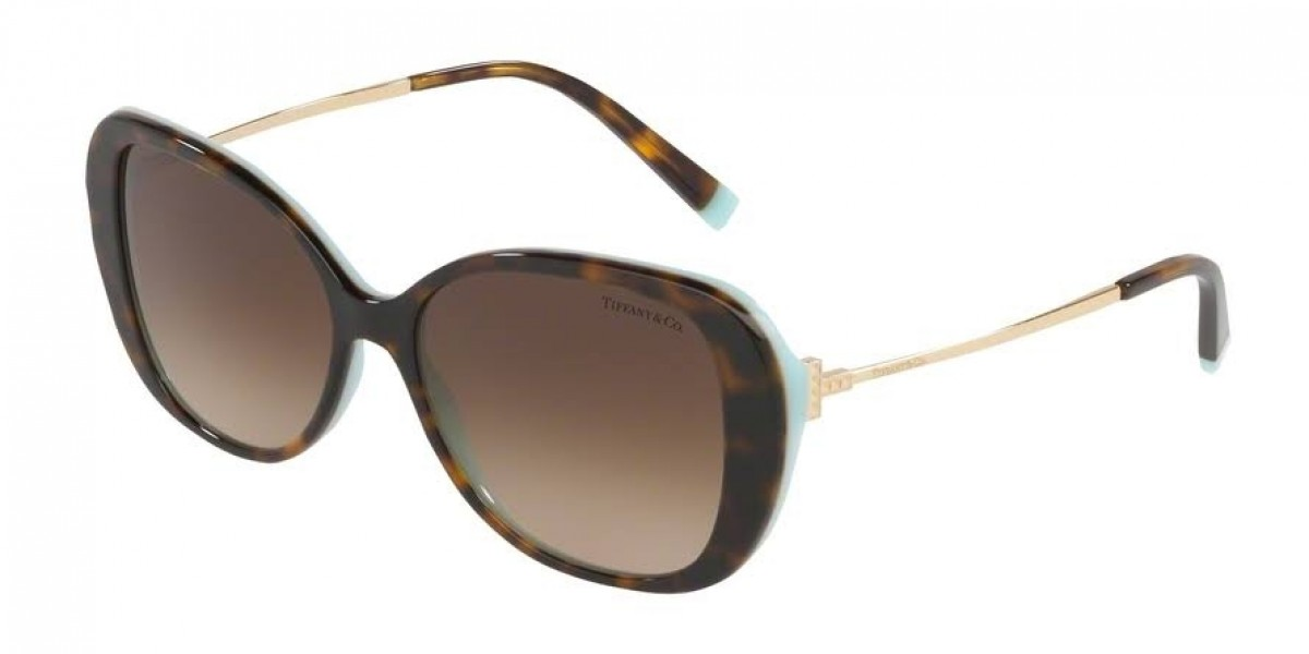 Tiffany & Co. 4156 81343B 55, 206,24 €, Occhiali Tiffany & Co. Marrone a forma Farfalla