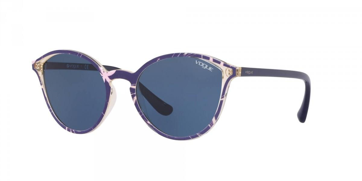 Vogue 5255S 269680 55, 69,99€, Occhiali Vogue Blu a forma Squadrato