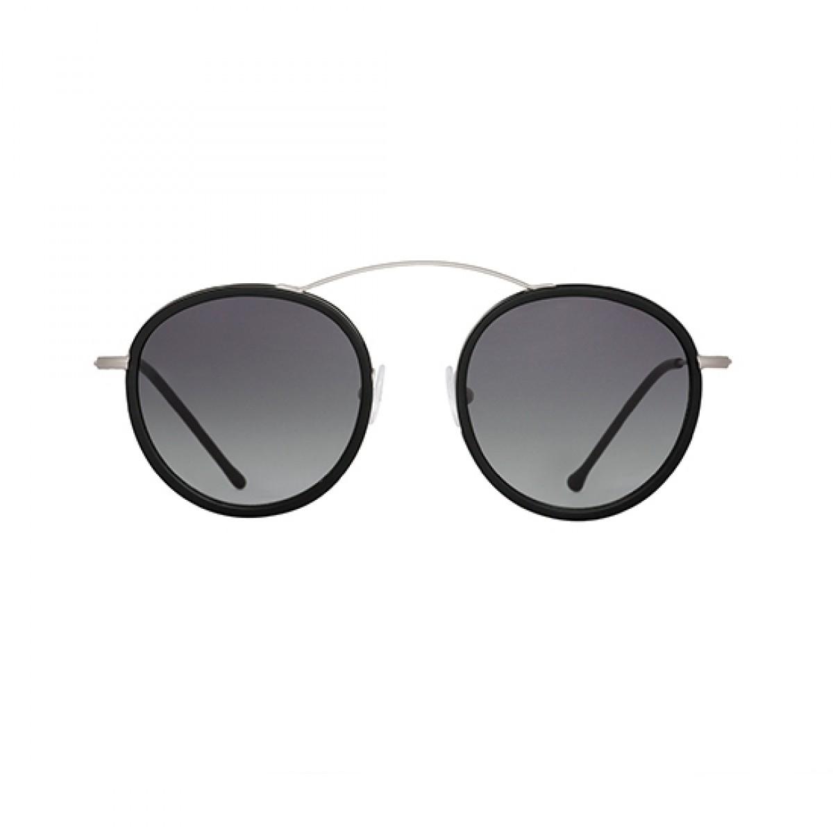 Metro 2 Flat Argento/Nero sfumato Grigio, 173,99€, Occhiali Spektre Argento a forma Ovale