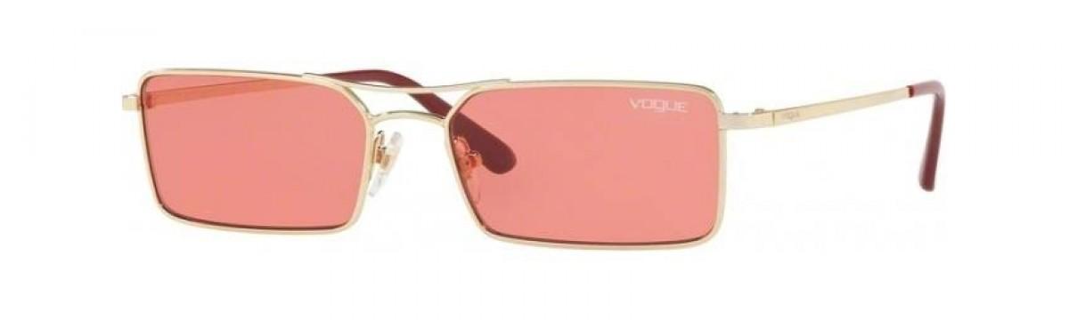 Vogue 4106 848/F5 55, 86,99€, Occhiali Vogue Oro a forma Rettangolare
