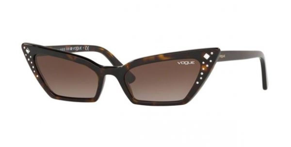 Vogue 5282SB W65613 54, 104,24€, Occhiali Vogue Marrone a forma Rettangolare