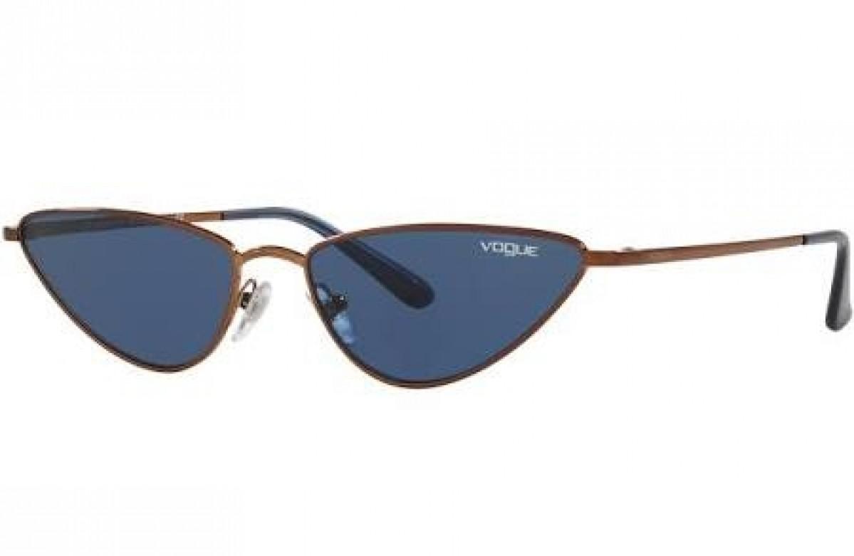 Vogue 4138 507420 56, 94,51€, Occhiali Vogue Marrone a forma Gatto