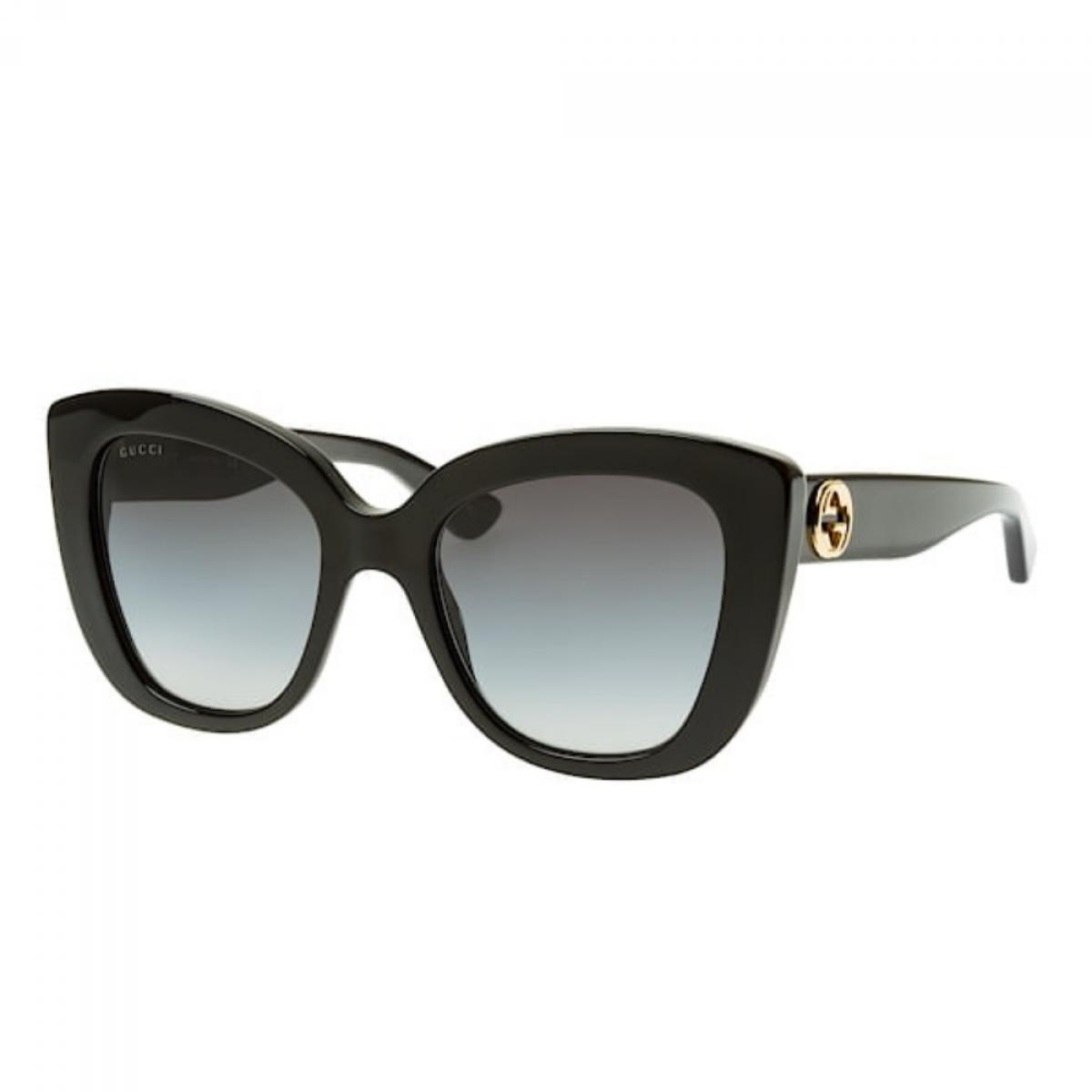 Gucci 0327S 001 52, 167,99€, Occhiali Gucci Nero a forma Farfalla