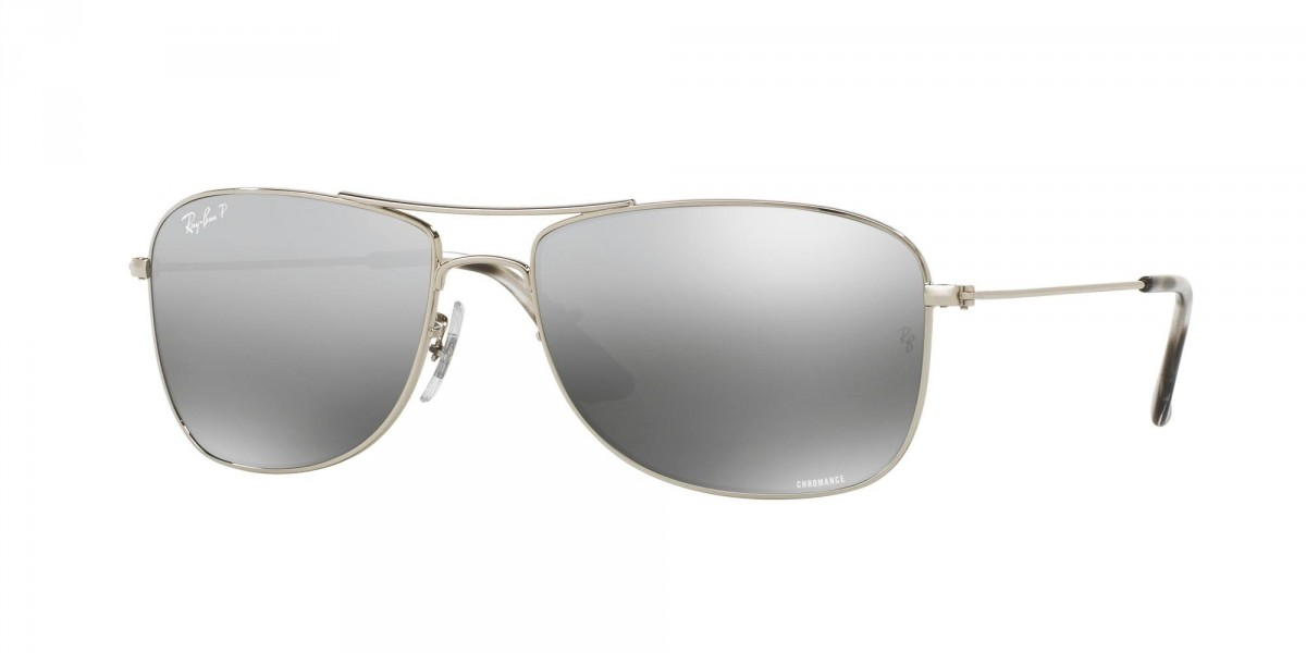 Ray-Ban 3543 003/5J 59, 120,88 €, Occhiali Ray Ban Argento a forma Rettangolare