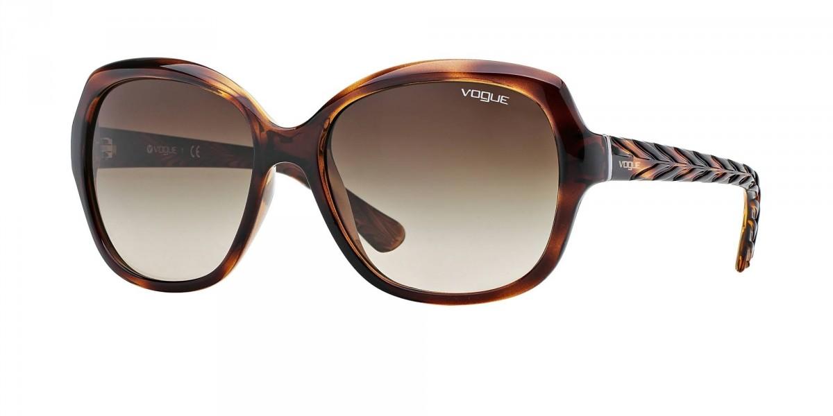 Vogue 2871S 150813 56, 63,99€, Occhiali Vogue Marrone a forma Squadrato