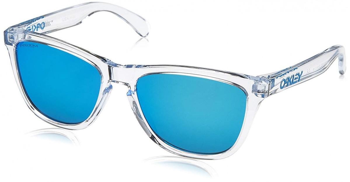 Oakley Frogskin 9013 9013D0 55, 75,65€, Occhiali Oakley Bianco a forma Rettangolare