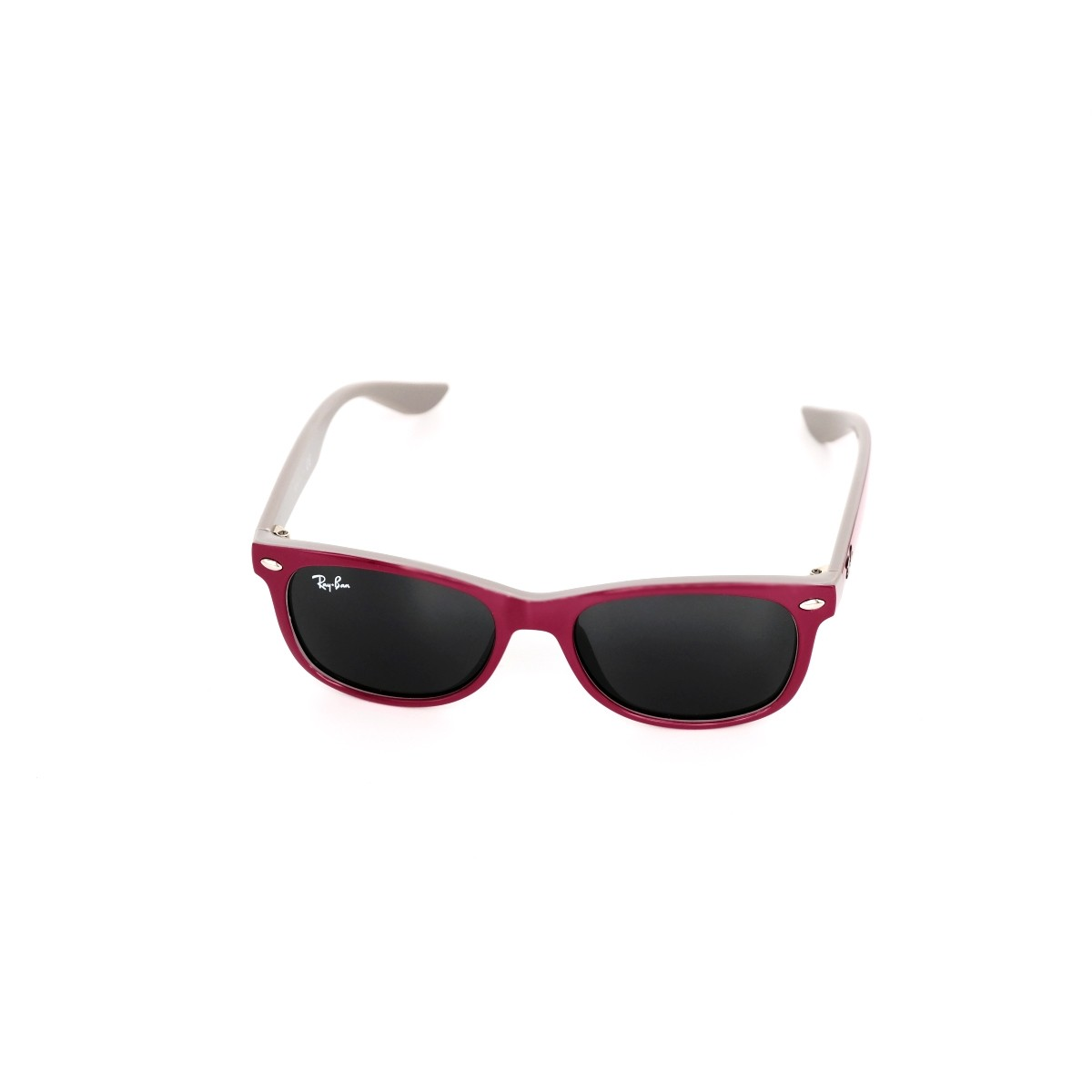 Ray Ban Junior 9052 177/87, 56,00 €, Occhiali Ray Ban Junior Viola a forma Rettangolare