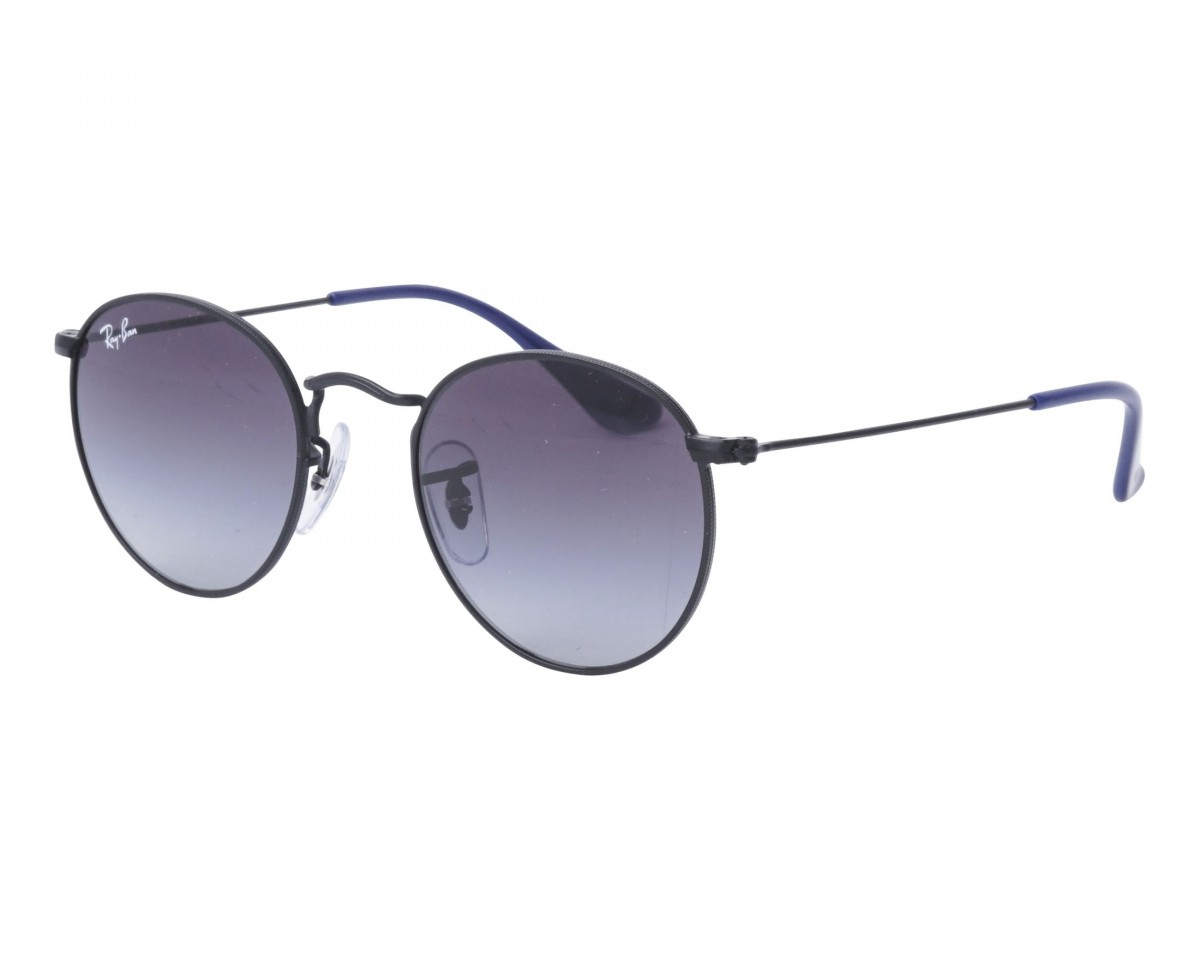 Ray-Ban Junior 9547S 201/8G 44, 65,00 €, Occhiali Ray Ban Junior Nero a forma Rotondo