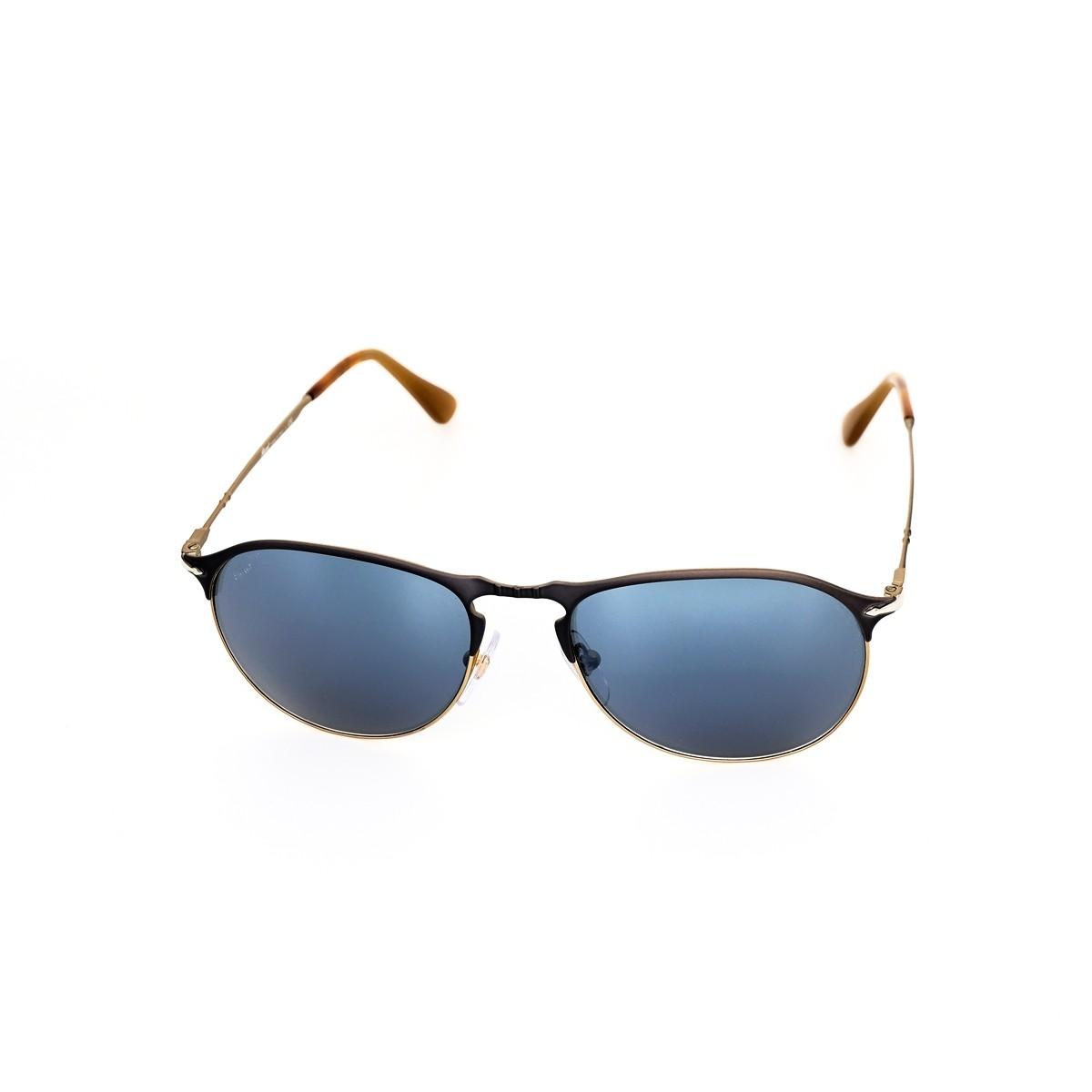 Persol 7649 1071/56, 141,00€, Occhiali Persol Blu a forma Goccia aviator