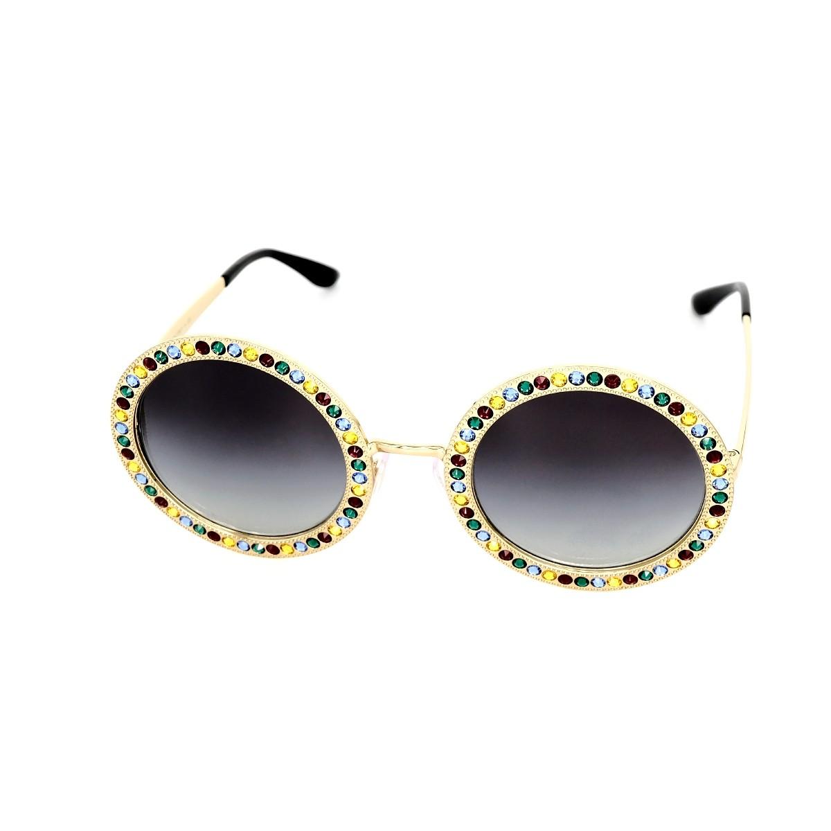 Dolce&Gabbana 2170 oro 02/8G Mambo Collection, 312,00€, Occhiali Dolce&Gabbana Oro a forma Rotondo