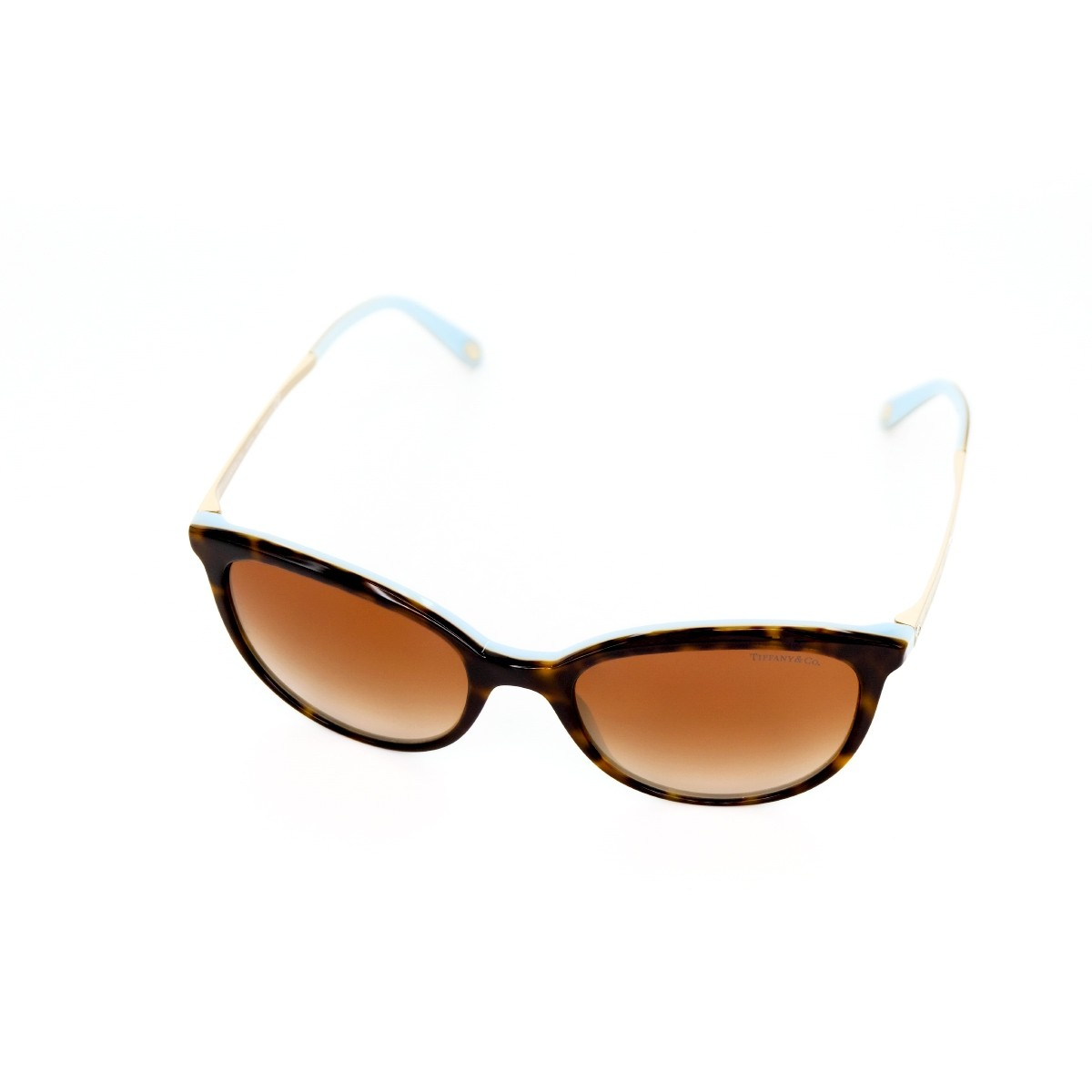Tiffany 4117B 81343B, 147,00 €, Occhiali Tiffany & Co. Marrone a forma Rotondo