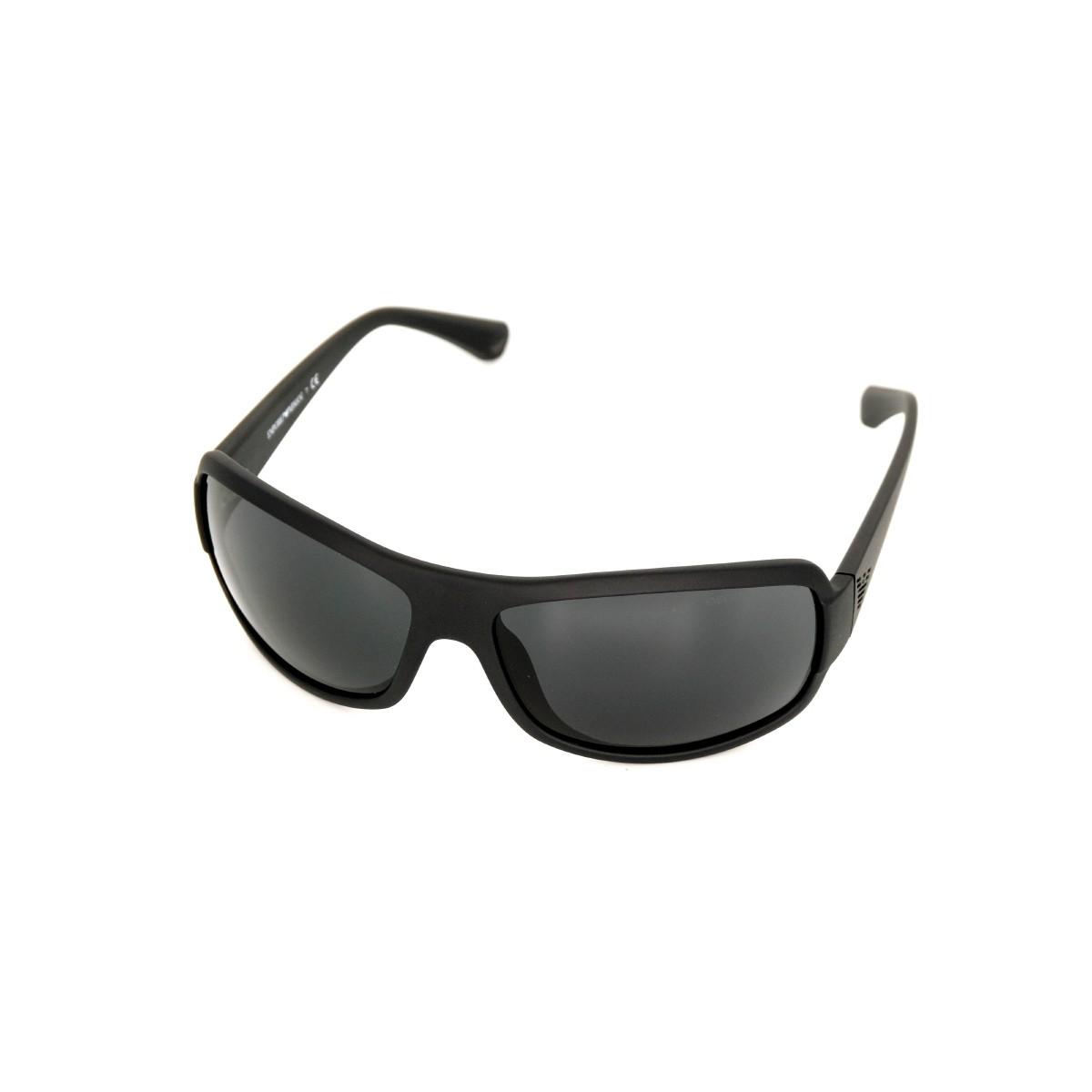 Emporio Armani 4012 matte black 504287, 76,00€, Occhiali Emporio Armani Nero a forma Rettangolare