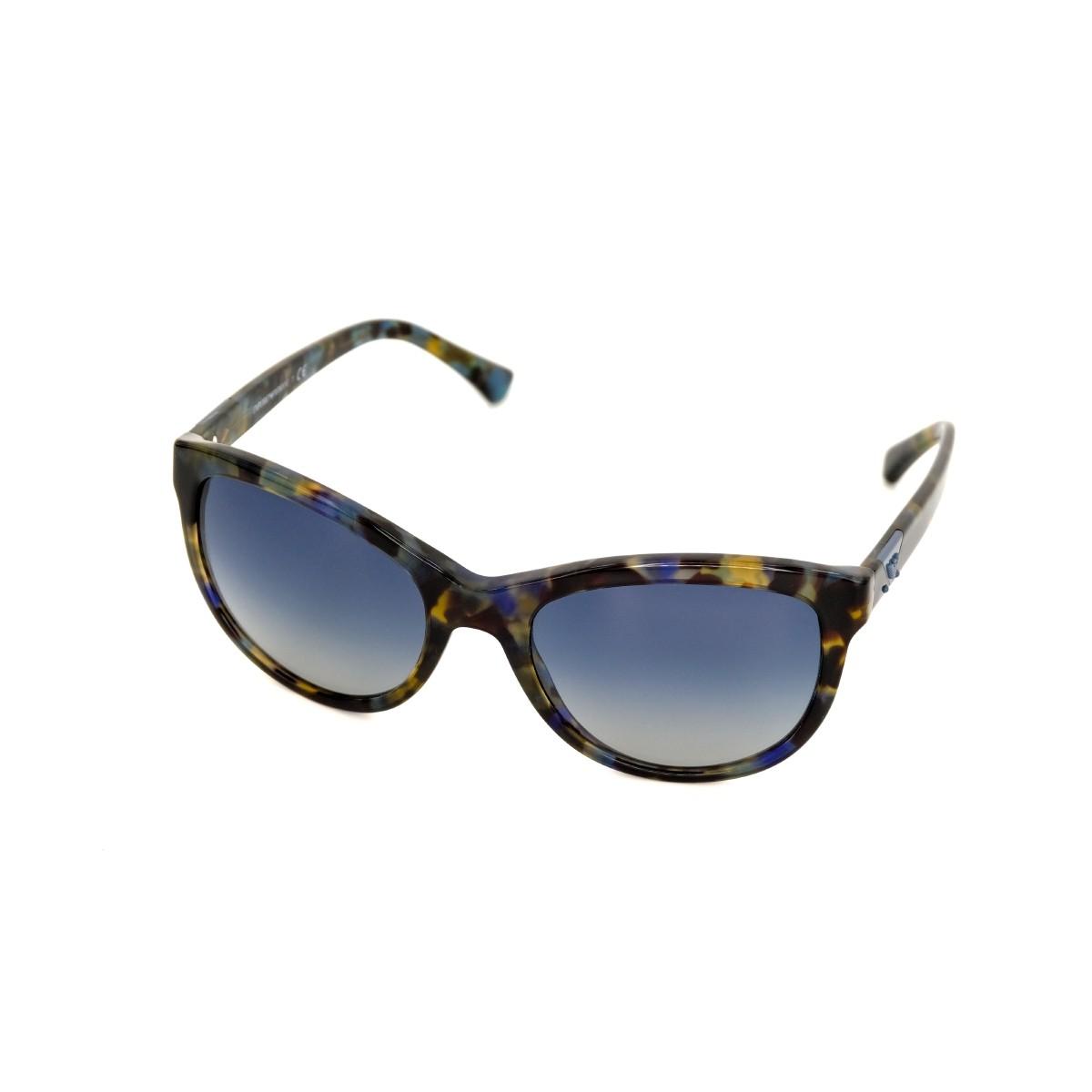 Emporio Armani 4076 havana spot blu 55424L, 101,00€, Occhiali Emporio Armani Multicolor a forma Squadrato