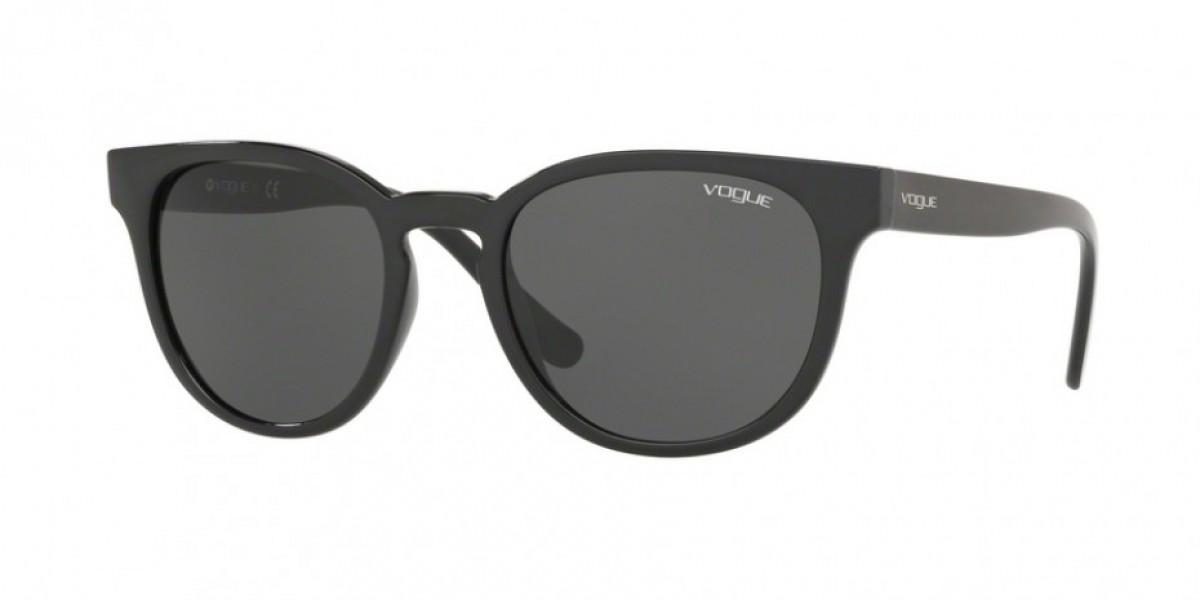 Vogue 5271S W44/87 53, 104,00€, Occhiali Vogue Nero a forma Rotondo
