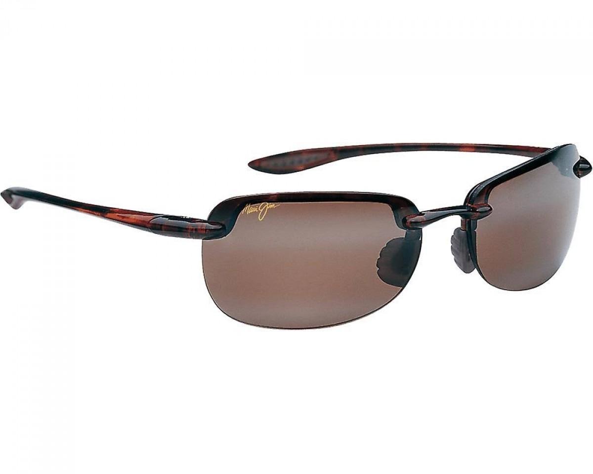 Maui Jim Sandy Beach H408-10, 147,39€, Occhiali Maui Jim Marrone a forma Rettangolare