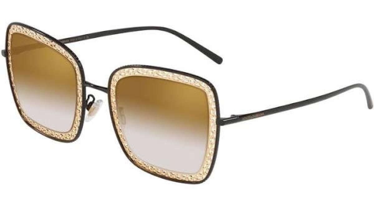 Dolce & Gabbana 2225 13116E 52, 153,99€, Occhiali Dolce&Gabbana Nero a forma Rettangolare